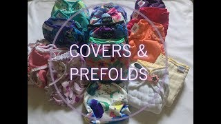 How To Cloth Diaper - Covers & Prefolds