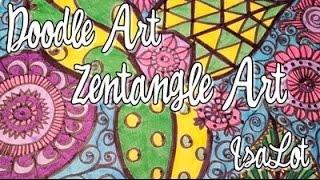 ¿Que Es Doodle Art? ¿Que Es Zentangle? Diferencias