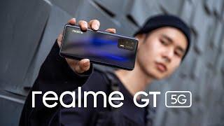 รีวิว realme GT 5G สมาร์ตโฟนเรือธงเร็วแรงเต็มสปีดด้วยชิปเซ็ต Snapdragon 888 หน้าจอ 120Hz และชาร์จไว 65W ในราคาเพียง 19,990 บาท