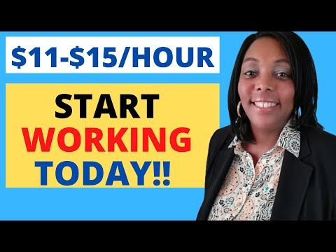 Work From Home Jobs That You Can Start Today!  Online Jobs Hiring Now