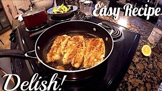 Freshwater Hybrid Striped Bass RECIPE! HOW TO COOK STRIPED BASS - Simple recipe at home in Texas