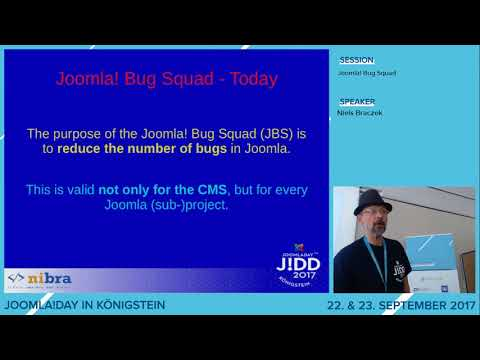 JD17DE - Joomla! Bug Squad (Audio fehlt/gestört)