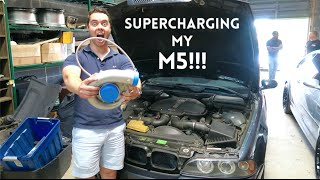 SUPERCHARGING MY BMW M5 !!! by Vehicle Virgins