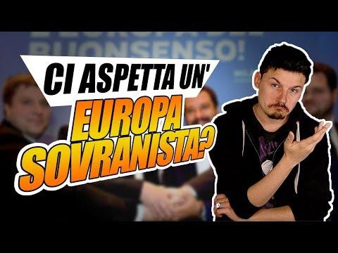 Dopo le europee ci aspetta un'EUROPA SOVRANISTA?