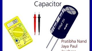 How To Check Capacitor| Multi Meter| Condenser| Discharge| Aravali|  Gupta| Electricity | Ghamas