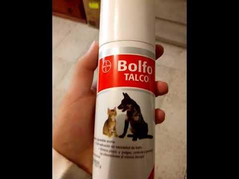 Bolfo Talco antipulgas, efectivo