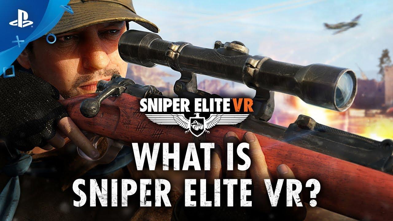 Sniper Elite VR porta la serie sulla guerra mondiale di Rebellion su PS VR