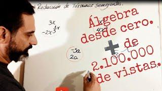 APRENDE ÁLGEBRA DESDE CERO Y FÁCIL. Explicación Y Ejercicios. Vídeo134  @Matemática Canal Luvicon