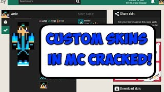 HowTo Get Skin For Cracked Minecraft Any Version Singleplayer - Minecraft skins fur cracked version
