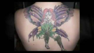 Buttefly Fairy Tattoo Designs