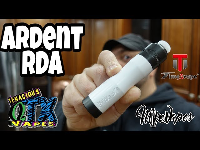 TimesVape Ardent RDA By Tenacious TX Vapes - Coil & Wicking Tutorial