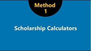 4 Ways to Check Colleges for Merit Scholarships: Method 1