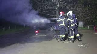 27.11.2020 / Brand-Bil i det fri / Lyngby