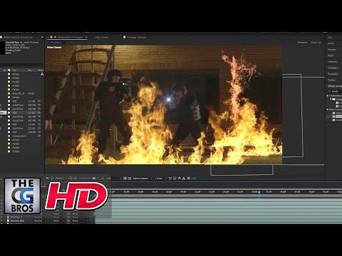 "CGI VFX Tutorial: ""Soldier Fire: Compositing Fire"" – by ActionVFX"