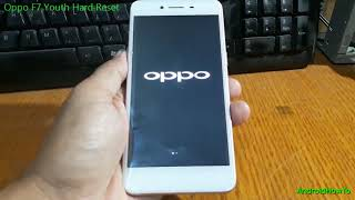 Remove Pin & Bypass FRP OPPO YOUTH F7 CPH1859 ( FIX EMMC
