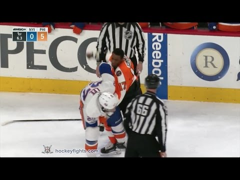 Wayne Simmonds vs. Anders Lee