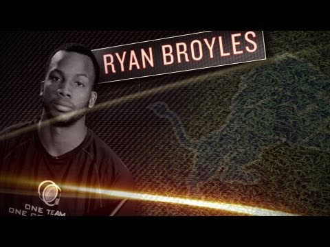 Ryan Broyles Interview - Lions Rookie WR