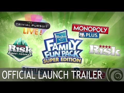 HASBRO Family Fun Pack Super Edition - Launch Trailer