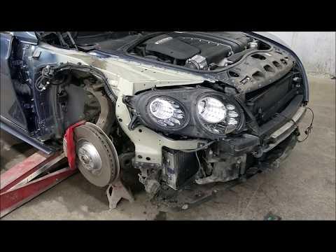 Bentley ремонт передка