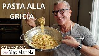 PASTA ALLA GRICIA - Chef Max Mariola  ENG ITA SUB