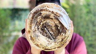 Galaxy S10'u Binlerce Kibritten Yaptığımız Rulo Pastanın İçine Yerleştirdik!