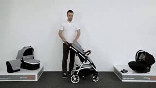 3-in-1 Kombikinderwagen easyGO Optimo: Kinderwagen im Funktionstest von LCPKids