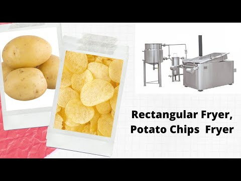 Rectangular Fryer Machine