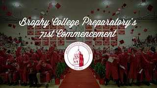 Brophy's 71st Commencement