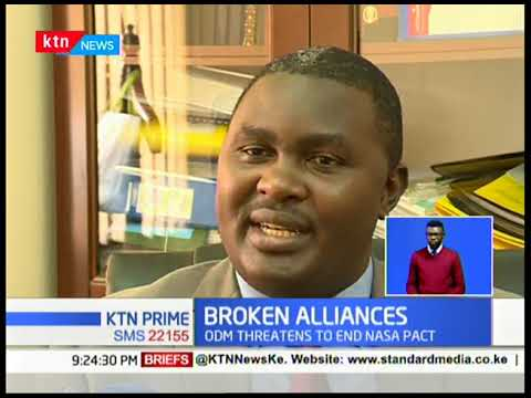 A hint of broken alliances following Kibra polls