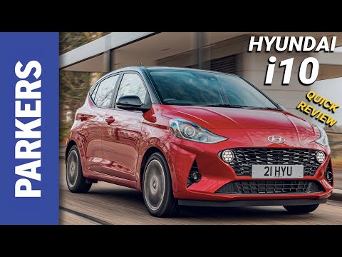 Hyundai i10 Hatchback Review Video
