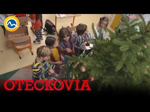 OTECKOVIA - V škôlke sa zdobí stromček. Dokonalá vianočná nálada!