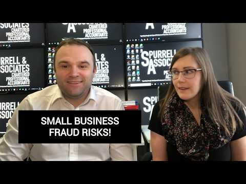 Small Business Fraud Risks