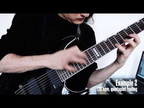Ultimate String Skipping Arpeggios for advanced guitarists - Workshop #1