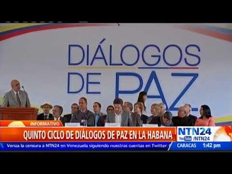 Cuba sera la nueva sede de los dialogos de paz entre el Gobierno de Colombia y el ELN