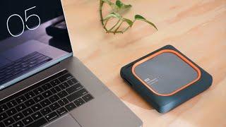 Eine KABELLOSE Festplatte? - WD My Passport Wireless SSD Review - Techcheck