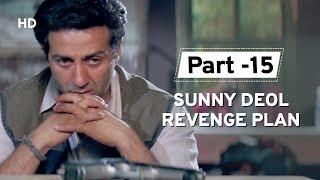 Fantastic Revenge Planning by Sunny Deol [Part 15] Salaakhen | Raveena Tandon | Amrish Puri