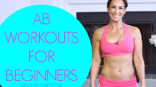 Ab Exercises For Beginners | Natalie Jill by Natalie Jill Fitness
