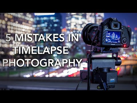 5 Beginner Mistakes to Avoid in Timelapse Photography