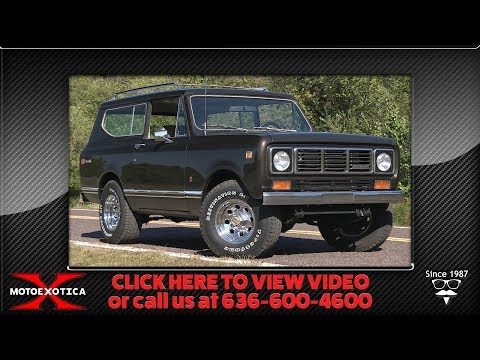 Video of '76 Scout - QXLB
