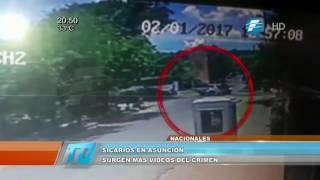 Sicarios en Asunción: surgen más videos del doble crimen
