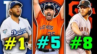 Top 10 Pitchers in MLB From The 2010s