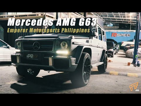 The iPE Exhaust for Mercedes-AMG G63 (W463)