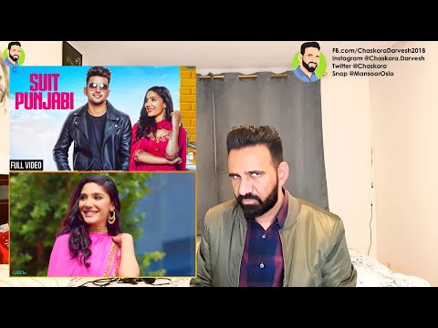 reAction from NORWAY; SUIT PUNJABI : JASS MANAK - Satti Dhillon | New Songs 2018