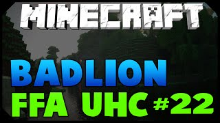 Minecraft: BADLION 250 MAN UHC #22 [SUPER FUN GAME!] w/AciDic BliTzz
