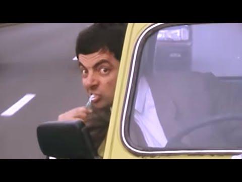 Humor: É melhor não cruzar com o Mr. Bean na estrada!