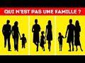 Test Psychologique : Devine Qui N'est Pas Une Famille
