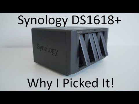 Synology DS1618+ 6 Bay NAS - Why I Picked It!