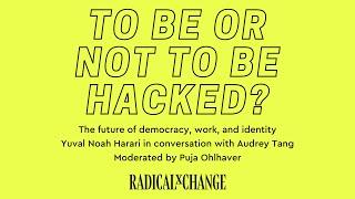 Yuval Noah Harari in conversation with Audrey Tang