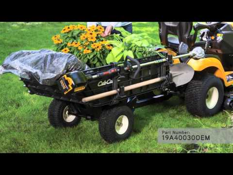 2020 Cub Cadet XT2 LX42 42 in. Cub Cadet 679 cc in Prairie Du Chien, Wisconsin - Video 2