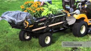 CUB CADET HAULER VIDEO